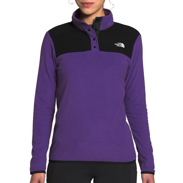The North Face - Women's TKA Glacier Snap-Neck Pullover