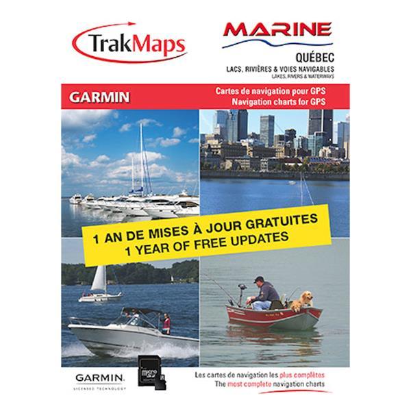 Trak Maps - Carte Marine Québec