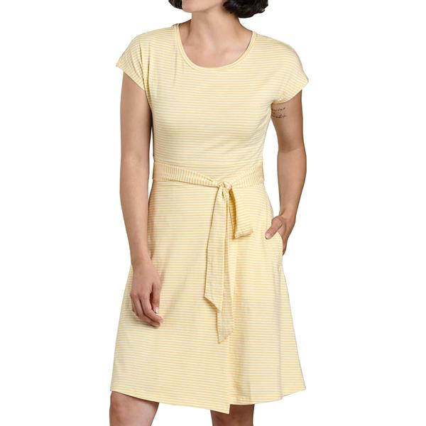 Toad and Co. - Robe à manches courtes Cue Wrap pour femme