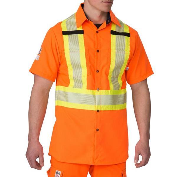 Big Bill - Men's 134HVP High Visibility Short-Sleeve Shirt