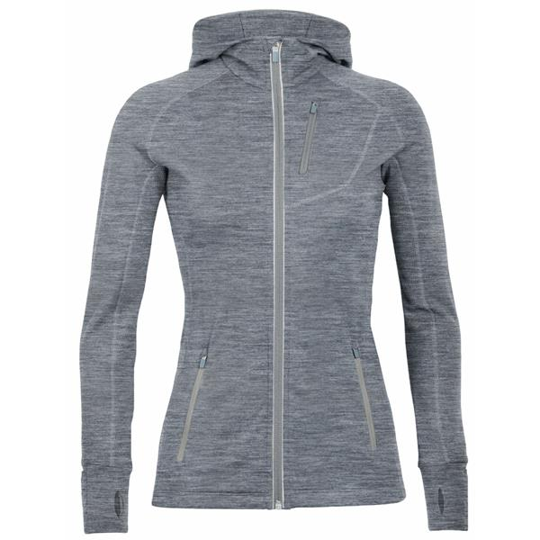 Icebreaker - Women's Quantum Long Sleeve Zip Hood