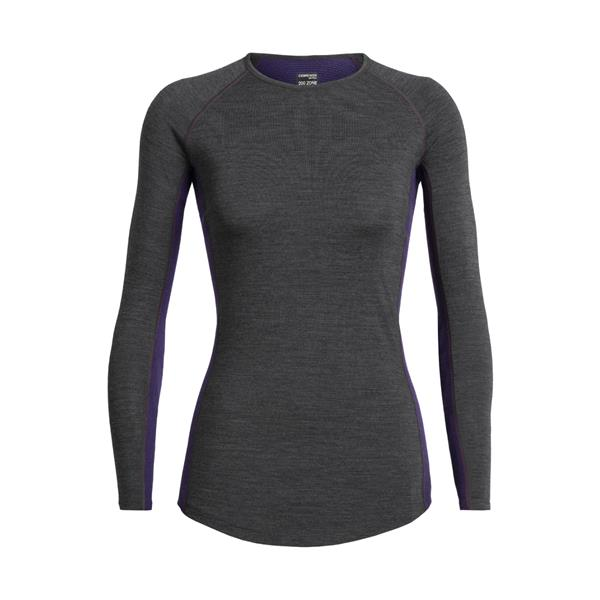 Icebreaker - Women's 200 Zone Crewe Long Sleeve Shirt