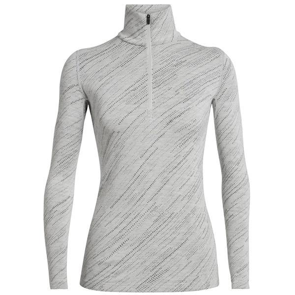 Icebreaker - Women's 250 Vertex Half Zip Snow Storm Shirt
