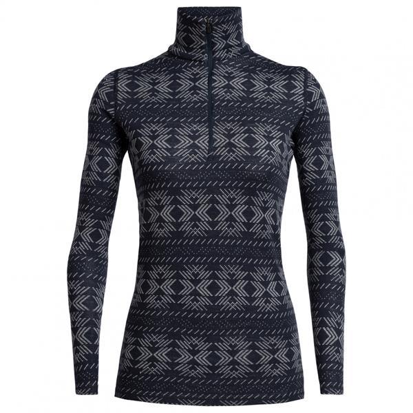 Icebreaker - Women's 250 Vertex Half Zip Crystalline Shirt