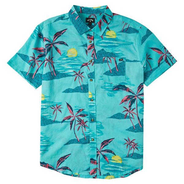 Billabong - Chemise à manches courtes Sundays Floral pour homme