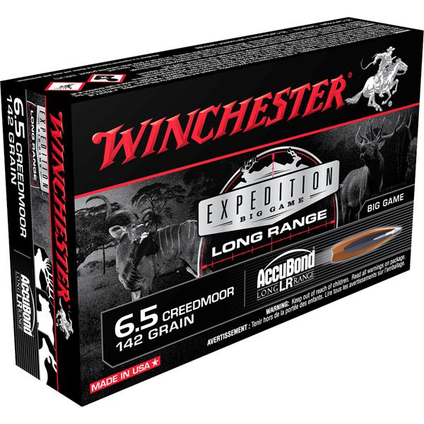 Winchester - Balles Expedition Big Game Long Range 6.5 Creedmoor 142 gr
