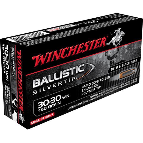 Winchester - Balles Ballistic Silvertip 30-30 Win 150gr
