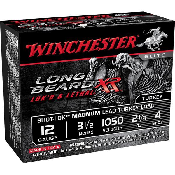 """Winchester - Cartouches Longbeard XR 12 Ga 3 1/2"""" #4"""