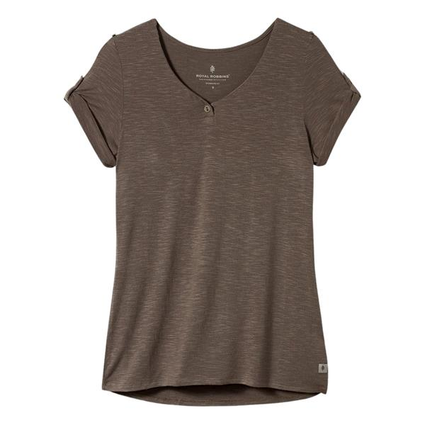 Royal Robbins - T-shirt Noe Henley pour femme